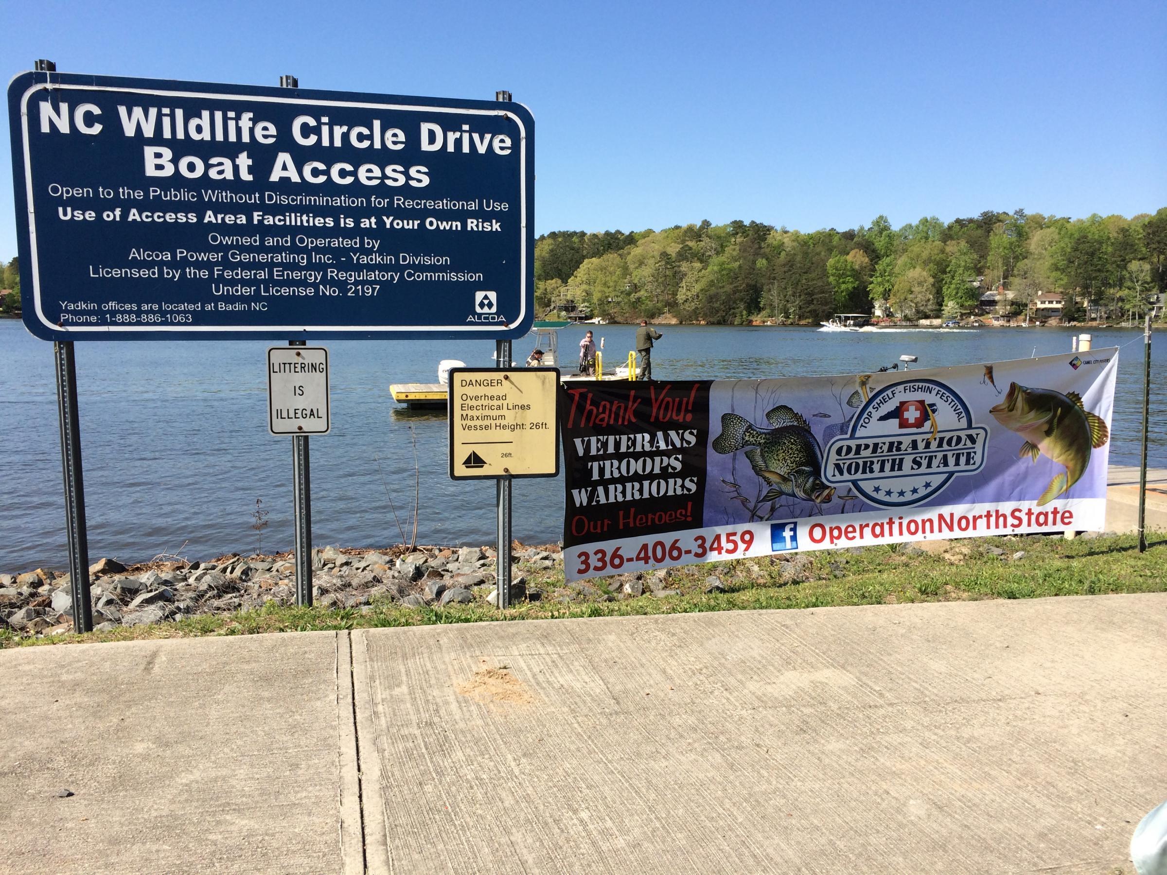 Volunteers Take Wounded Troops Veterans Fishing At Badin Lake Wfae