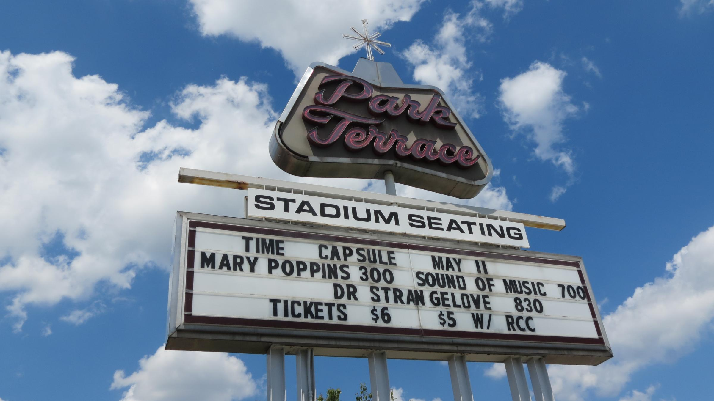 Mayor opens 50 year old time capsule and finds a soggy for The terrace movie theater