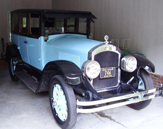 A 1924 Anderson owned by John Gary Anderson's great-great grandson, Walter Hardin.