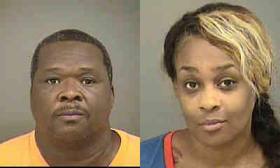 Reginald K Harris 52 And Dia D Harris 40 Were Arrested August 6 2014