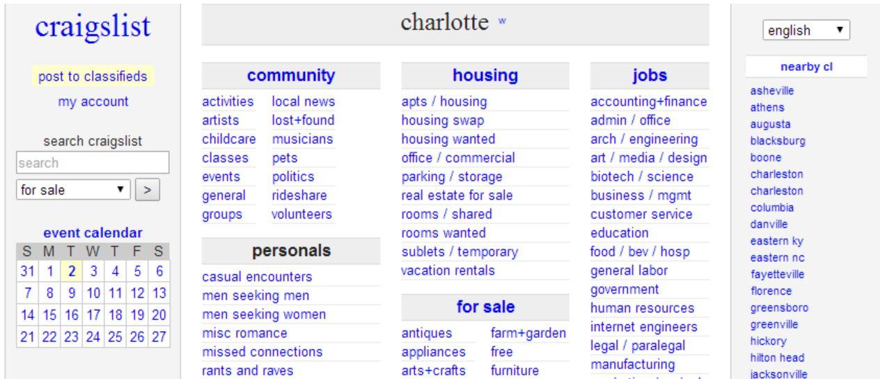 Be Careful On Craigslist Transactions Cmpd Warns Wfae