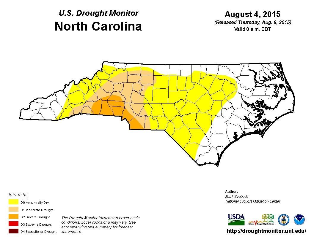 Drought In Charlotte And Mecklenburg County WFAE