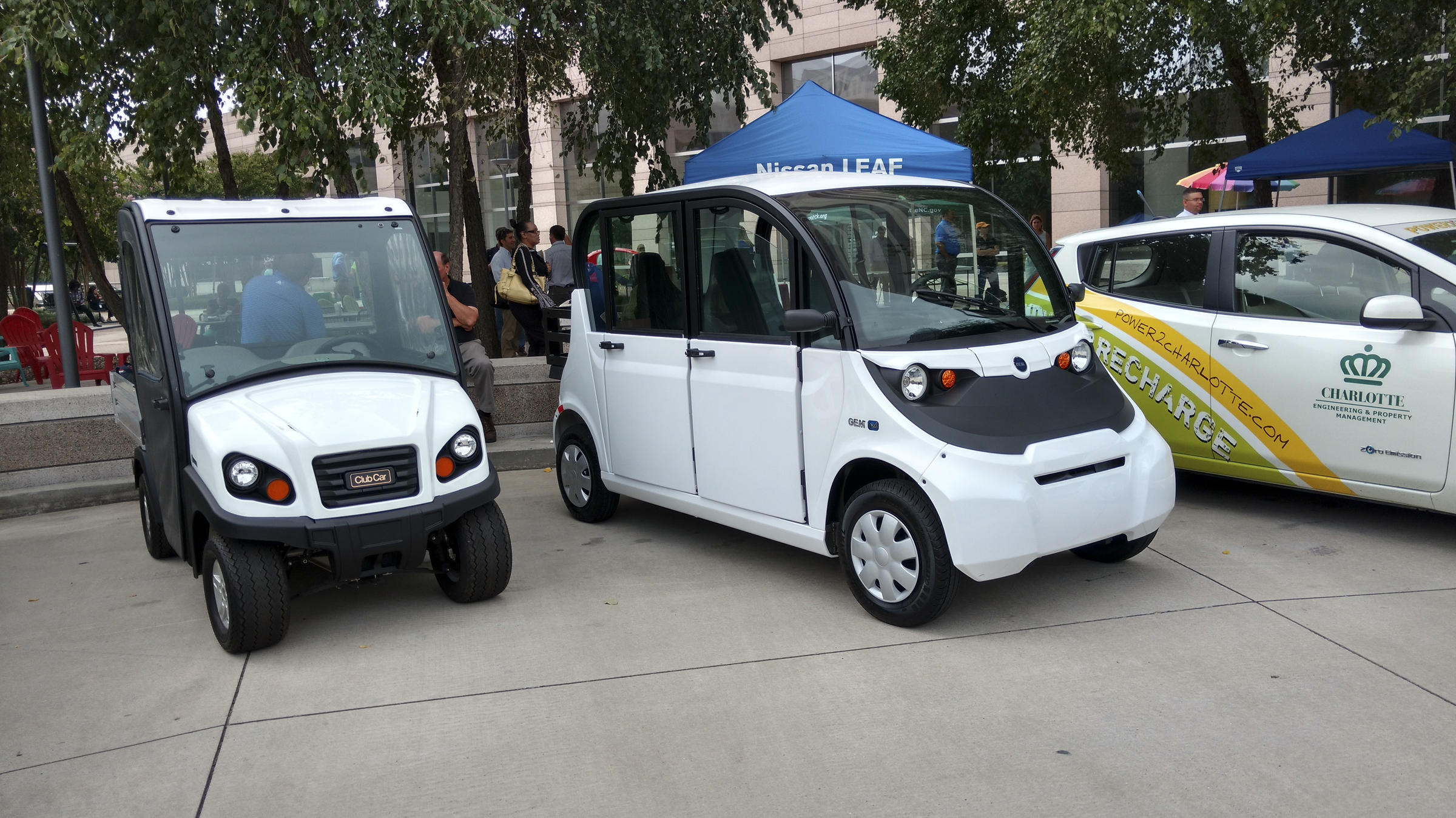 Talking Up The Idea Of An Electric Car Wfae