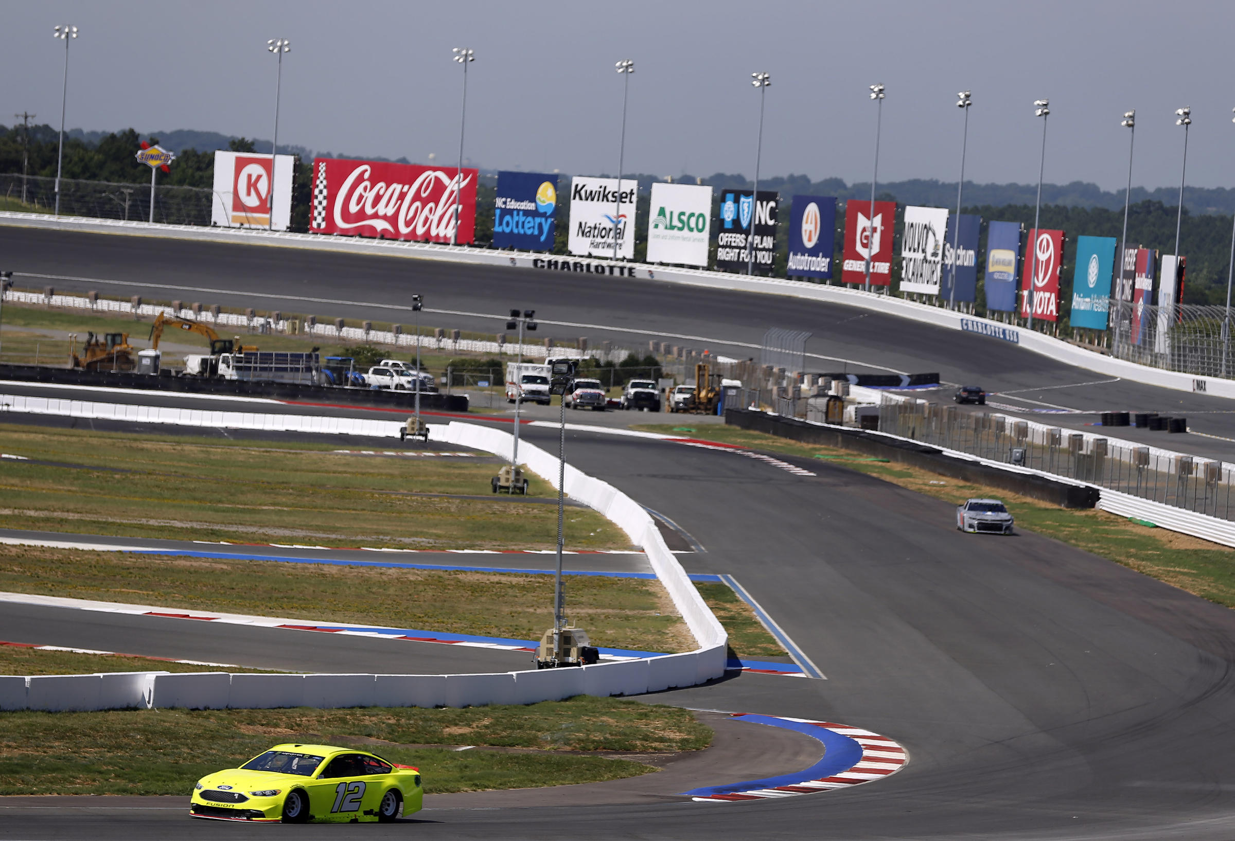 Sundays NASCAR Race Wont Be An Oval But A Roval WFAE - Charlotte motor speedway events car show