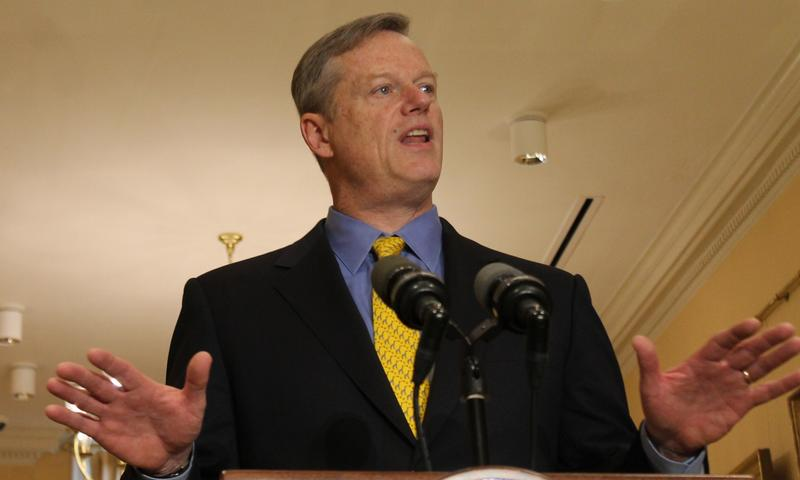 Gov. Charlie Baker in November of 2016.