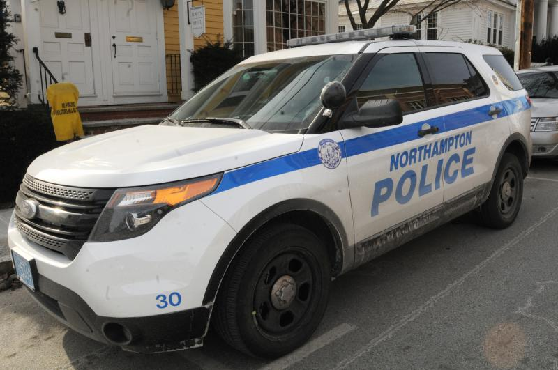 An SUV for the police department in Northampton, Mass.