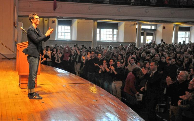 Rachel Maddow at Smith College