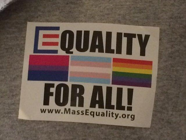 A debate on a transgender public accommodation bill drew crowds to the Massachusetts Statehouse on June 1, 2016.
