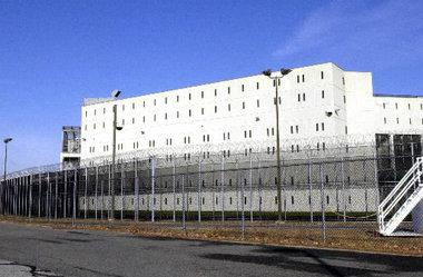 Exterior of Hampden County Correctional Center in Ludlow, Mass.