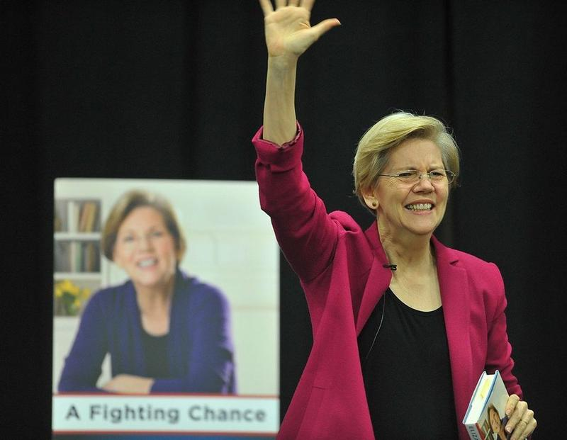Massachusetts U.S. Senator Elizabeth Warren.