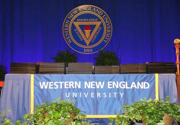 Western New England University in Springfield awarded 581 bachelor degrees during its commencement ceremony in 2015.