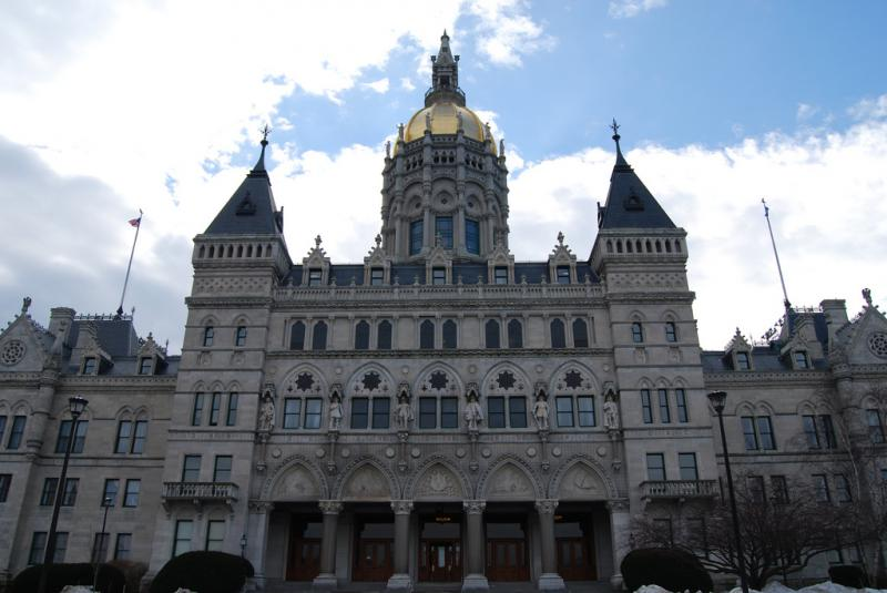 The Connecticut Statehouse in Hartford.