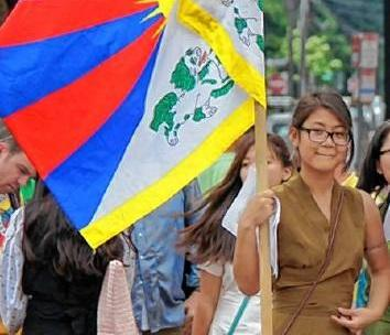 UMass Amherst denied Kalsang Nangpa's request to carry the Tibetan flag during a special part of the university's commencement ceremony.