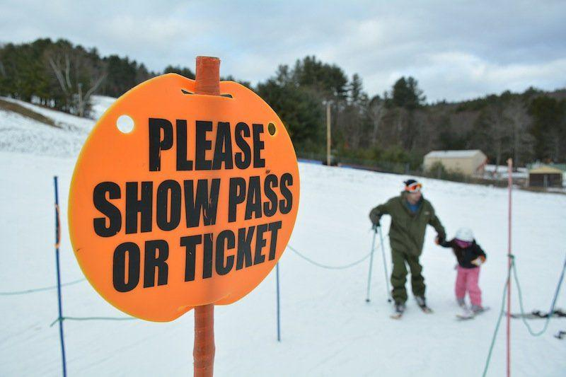 Blandford Ski Area in Blandford, Mass.
