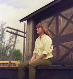 Judy Roderick in 1963
