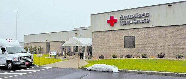 The American Red Cross facility at 150 Brookdale Drive in Springfield, Mass.