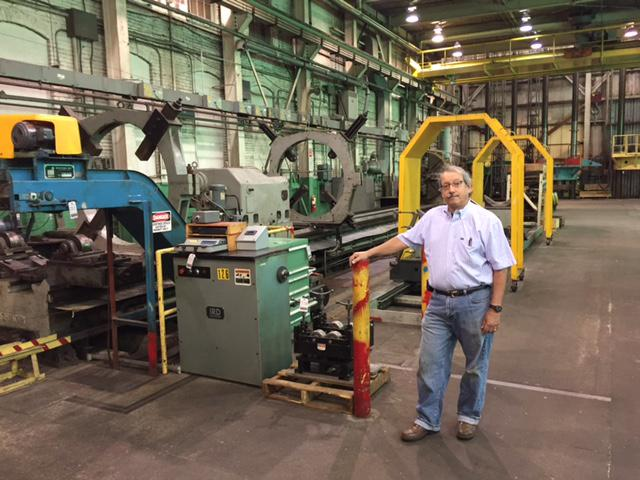 Jim Sagalyn, president and owner of the Holyoke Machine Company.