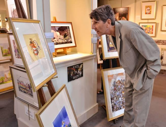 Author and poet Rich Michelson owns an art gallery in Northampton, Mass.