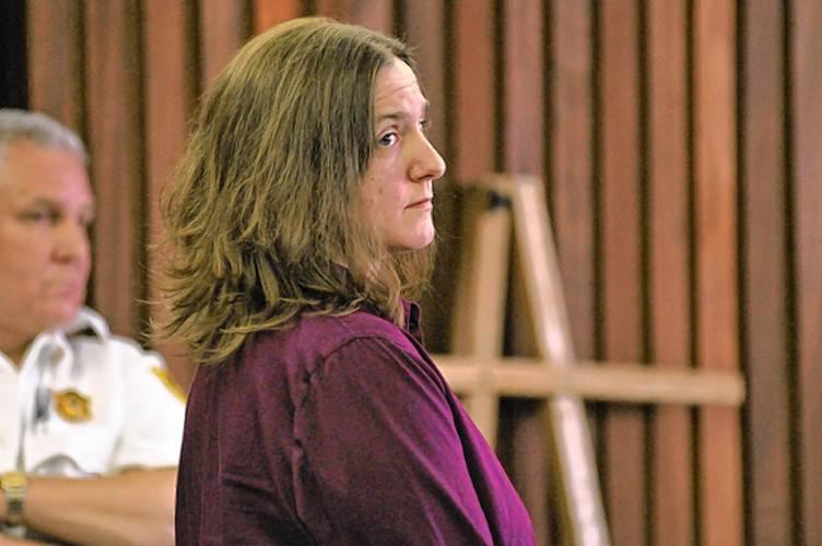 Former state chemist Sonja Farak at her 2013 arraignment.