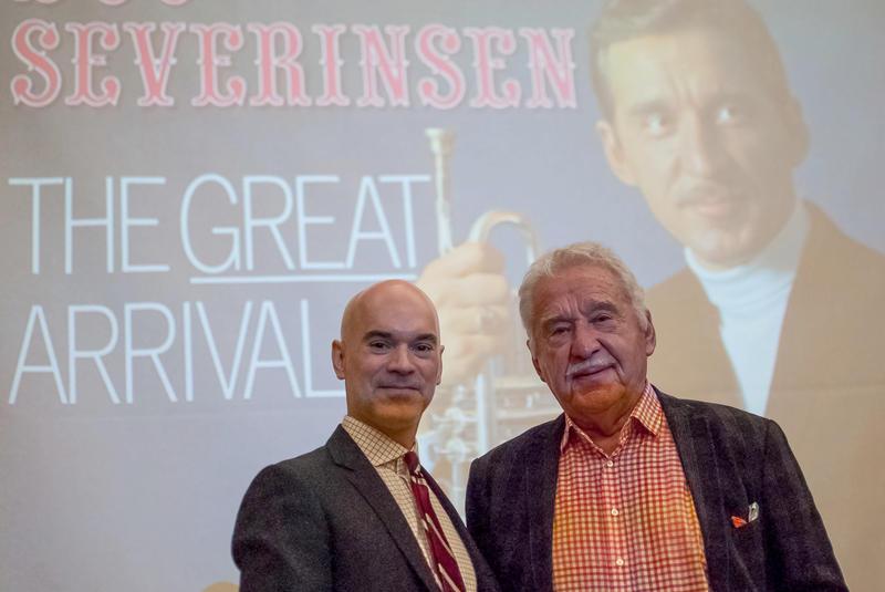 Peter Sokolowski and Doc Severinsen JAZZ BEAT