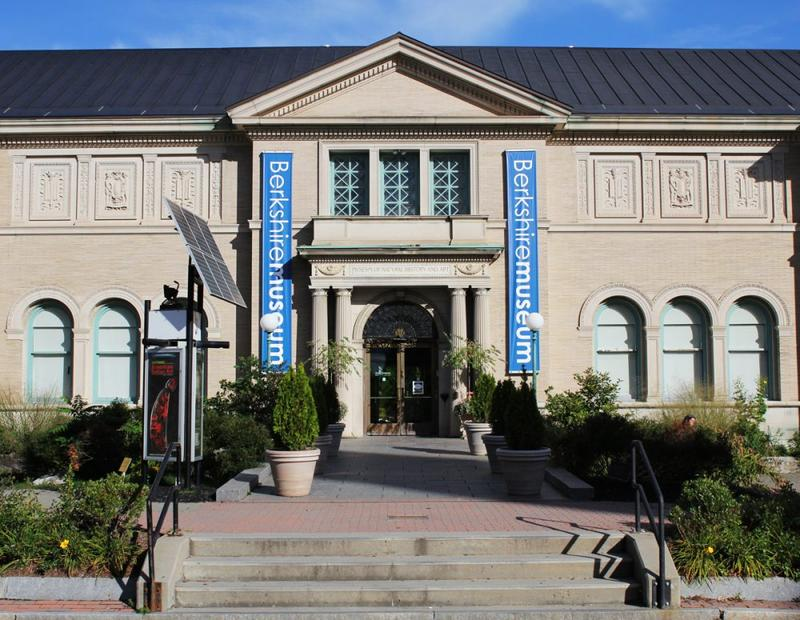 The Berkshire Museum in Pittsfield, Massachusetts.