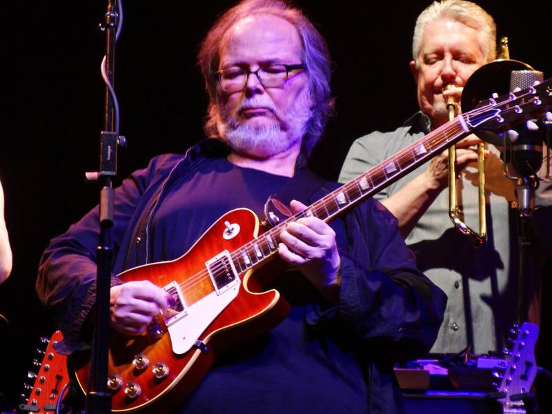Walter Becker at the Beacon Theater, New York City, on November 16, 2016
