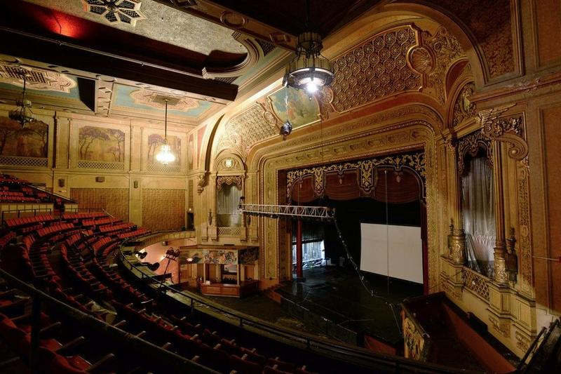 The interior of the Paramount Theater in Springfield in 2016.