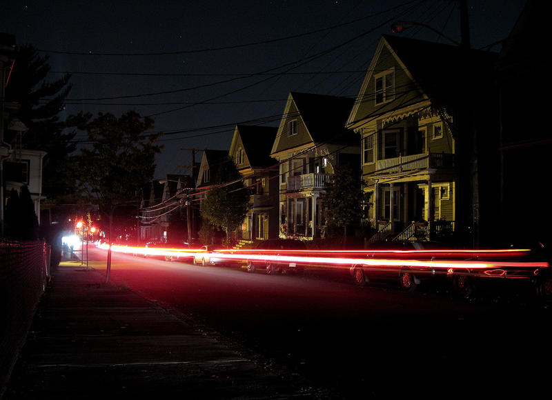 A blackout in Somerville, Massachusetts, earlier this month.