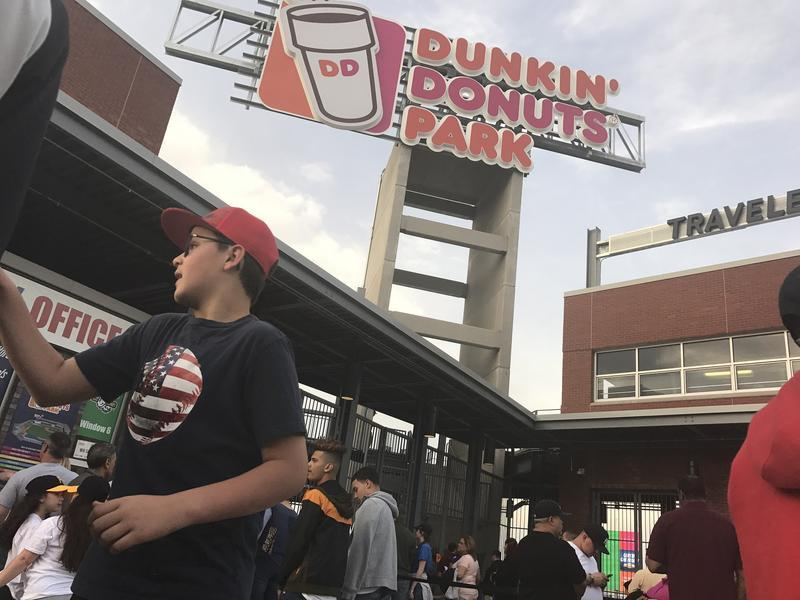 Dunkin' Donuts Park in Hartford.