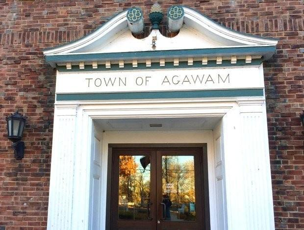 Town Hall in Agawam, Massachusetts.