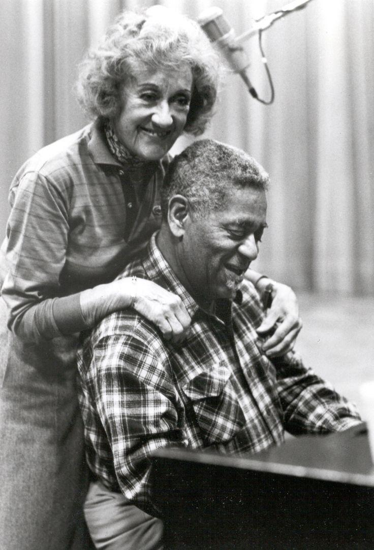 Marian McPartland and Dizzy Gillespie