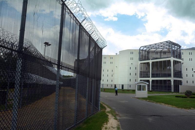 Hampden County Jail in Ludlow, Mass.