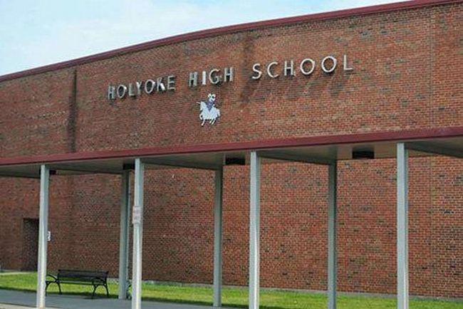 Holyoke High School.