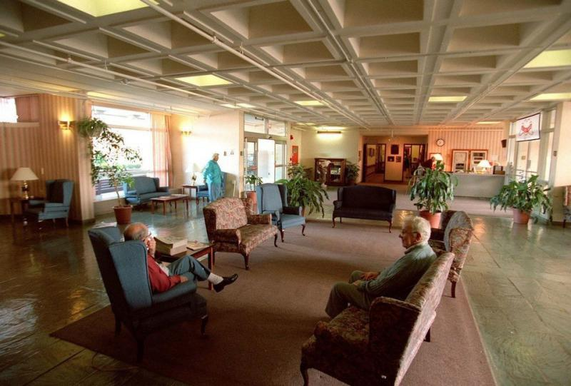 Main lobby at the Holyoke Soldiers' Home in a file photo.