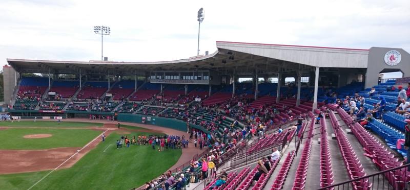 McCoy Stadium in Pawtucket, Rhode Island in 2016.