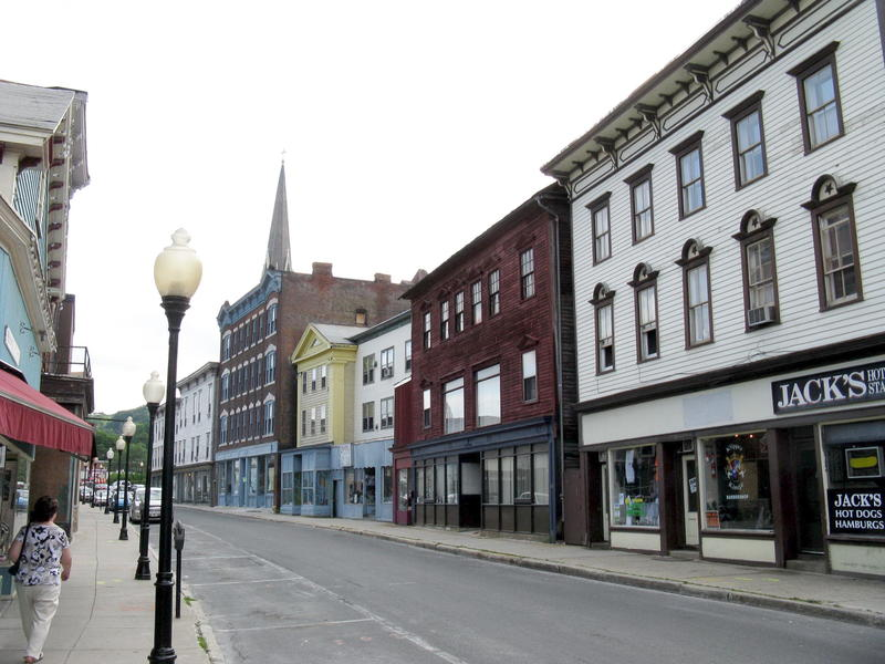 Eagle Street in North Adams, Massachusetts, in a file photo.