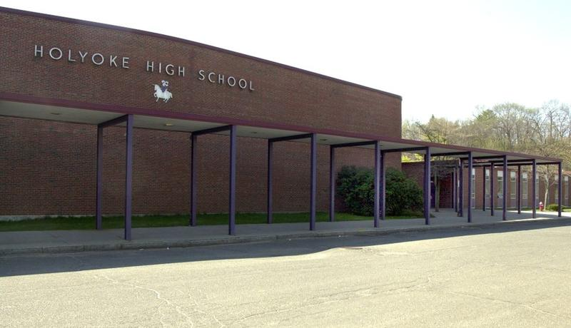 Holyoke High School in a file photo.