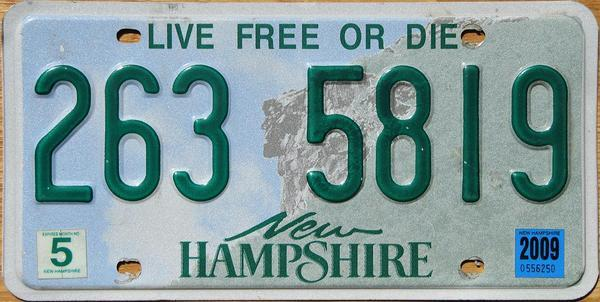 The New Hampshire motto