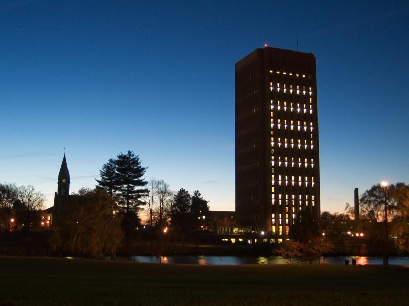 UMass Amherst in a file photo.