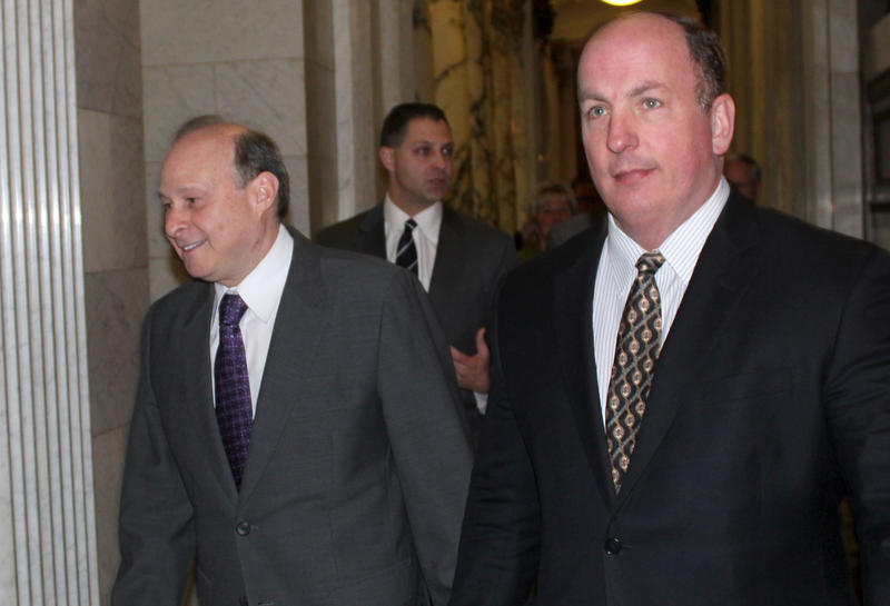 Former Massachusetts Senate Assistant Majority Leader Brian Joyce was arrested Friday by federal authorities.