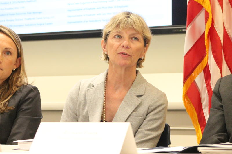 Massachusetts Secretary of Health and Human Services Marylou Sudders.