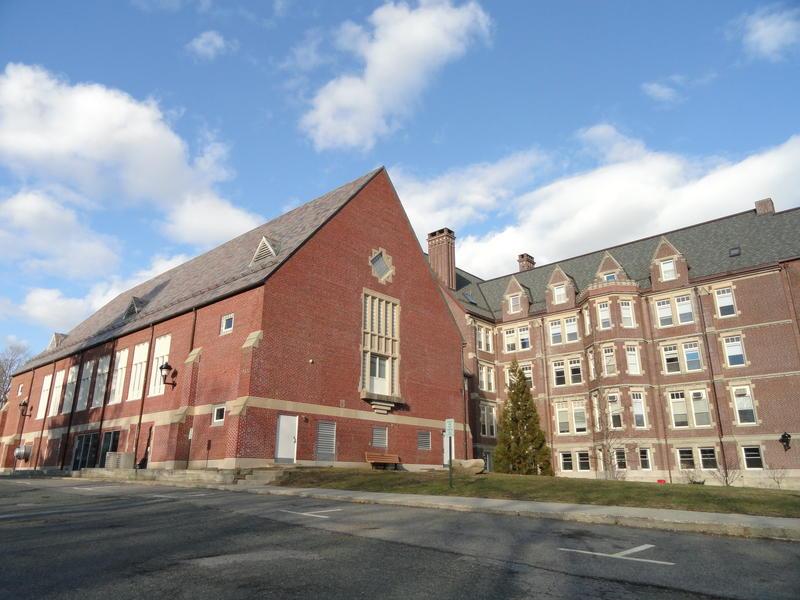 Massachusetts Bay Community College in Wellesley, Massachusetts.