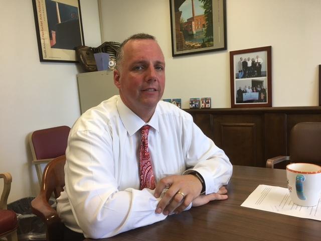 Pawtucket Mayor Don Grebien in a 2017 file photo.