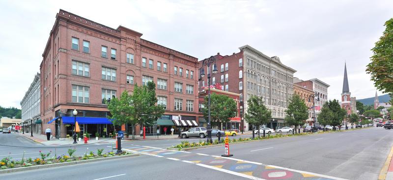 Main Street in North Adams, Massachusetts, in 2013.