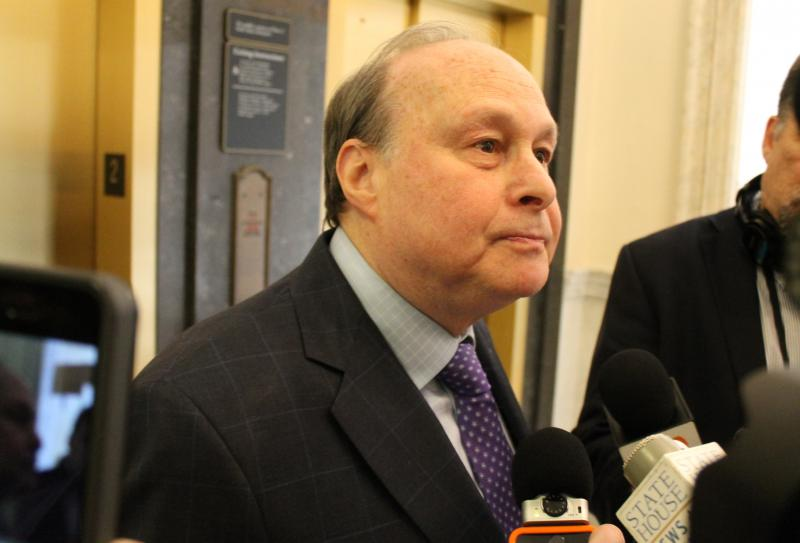 Former Massachusetts Senate President Stanley Rosenberg confirmed to reporters Thursday that he had separated from his husband Bryon Hefner, who is undergoing treatment after allegations of sexual assault.