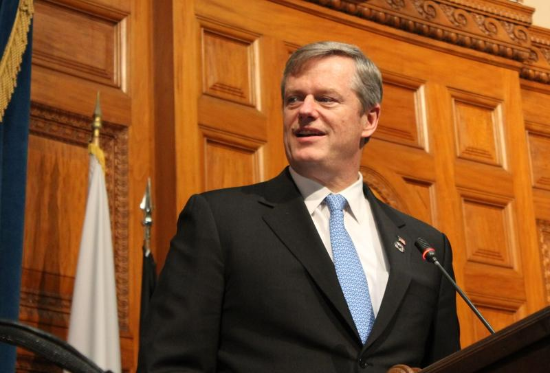 """I'd love to see us get something like our Housing Choices legislation done and few other items like that,"" Gov. Charlie Baker told reporters."