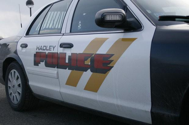 A Hadley, Massachusetts, police car.