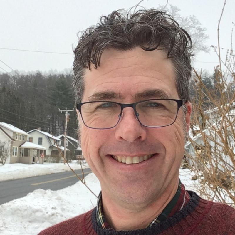 Andrew Varnon likes the small-town feel of Greenfield.
