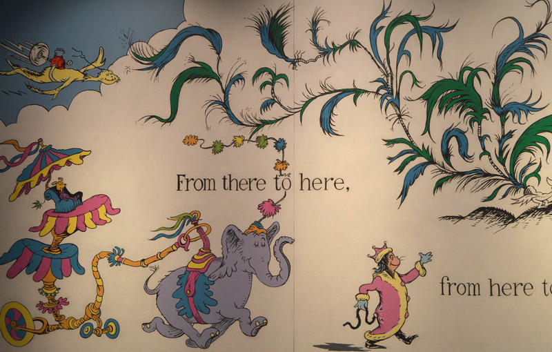 The Dr. Seuss museum in Springfield, Massachusetts, put up a new mural, after the original drew controversy for its depiction of a Chinese man.