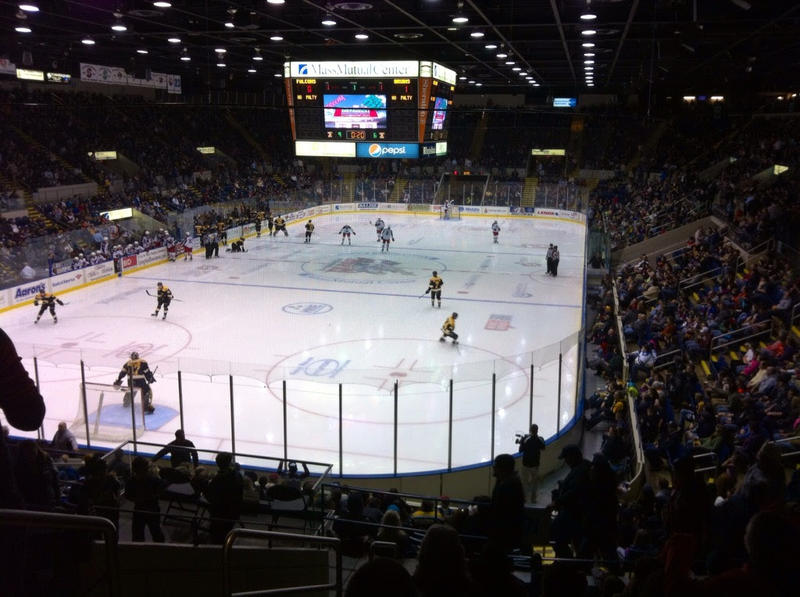 MassMutual Center in Springfield.